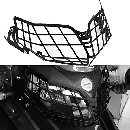 Areyourshop Headlight Guard Protector Black Grille Cover for Benelli TRK502 TRK 502