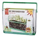 Beetle & Bee See Thru Garden View by Toysmith, Root Viewer - DIY Arts & Crafts Gardening for Kids & Teens, Boys & Girls, See Thru Root Viewer, New Style