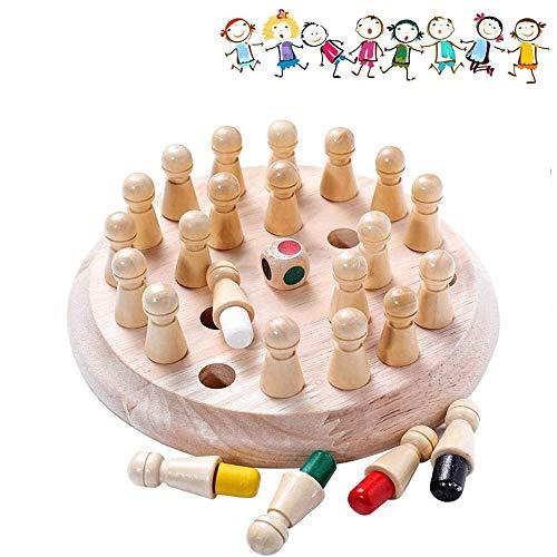 Memory Match Stick,Memory Schach Holz,Family Brettspiele Hölzerne,hölzernes gedächtnis-Schach,gedächtnis-Schach,schachspiel lernspielzeug,gedächtnisschach,Schachbrett Spielzeug,gedächtnis-schachspiel