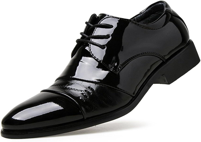 shoes Men's Business Oxfords Summer Job Interview Semi-Formal Black Formal Modern shoes Leather shoes
