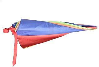 مظلة رأس متعددة الألوان للرحلات البرية والبحرية للحماية من الشمس والمطر