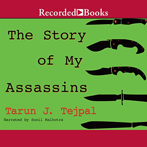 The Story of My Assassins audiobook cover art