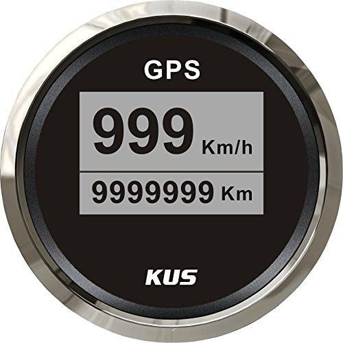 Preisvergleich Produktbild Kus Digitale GPS Tachometer 0999 KM / H für LKW Auto Motorrad 52 mm (5, 1 cm)