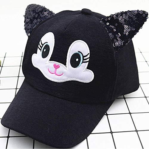 MIBQM Unisexo Sombrero de bebé de Gato de Dibujos Animados...