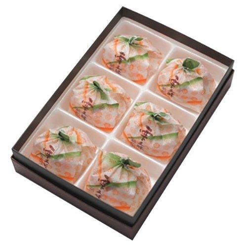 新杵堂餅菓子栗三昧(くりざんまい)6個