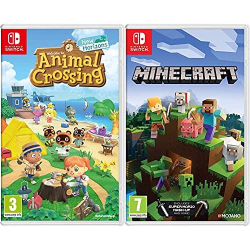 Animal Crossing: New Horizons & Minecraft - Nintendo Switch