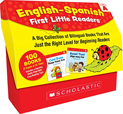 English-Spanish First Little Readers: Guided Reading Level A (Classroom Set): 25 Bilingual Books That are Just the Right Level for Beginning Readers -  Deborah Schecter, Paperback