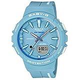 [カシオ] 腕時計 ベビージー FOR SPORTS 歩数計測 機能つき BGS-100RT-2AJF レディース ブルー