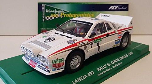 FLy Slot SCX Scalextric 99088 Compatible Lancia 037 Rally El Corte Inglés 1986 Serviá