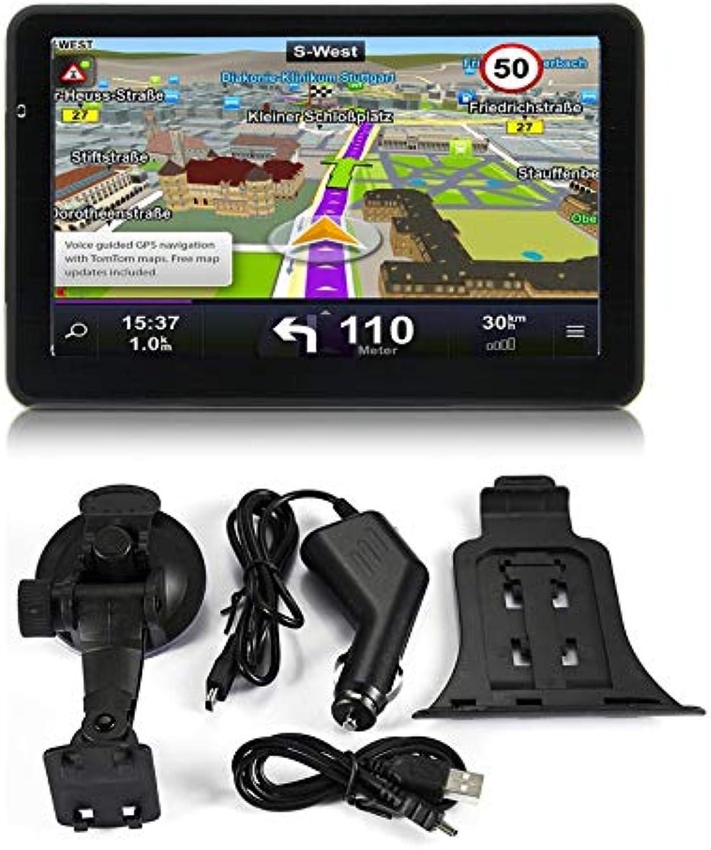 WEIHAN 710 7 inch Car Truck GPS Navigation 256M+8GB Capacitive Screen FM Navigator Reversing Camera Touch Sensor Accurately Position
