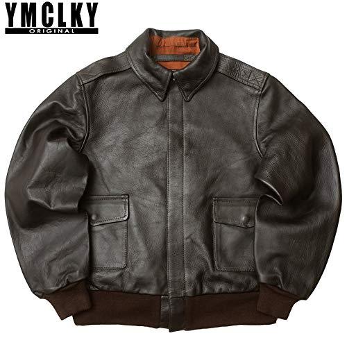 YMCLKY『A-2フライトジャケットホースレザー』