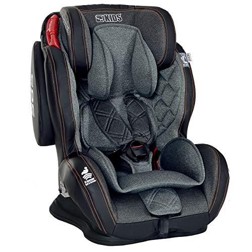 Bester der welt LCP Kindersitz 9-36kg GT Comfort Seitenschutz SPS Schwarz mit Liegefunktion