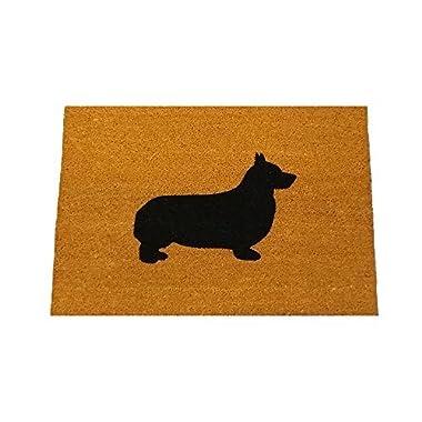 Corgi Silhouette Doormat (18 x30 )