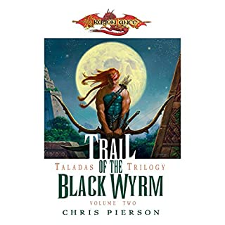 Trail of the Black Wyrm audiobook cover art