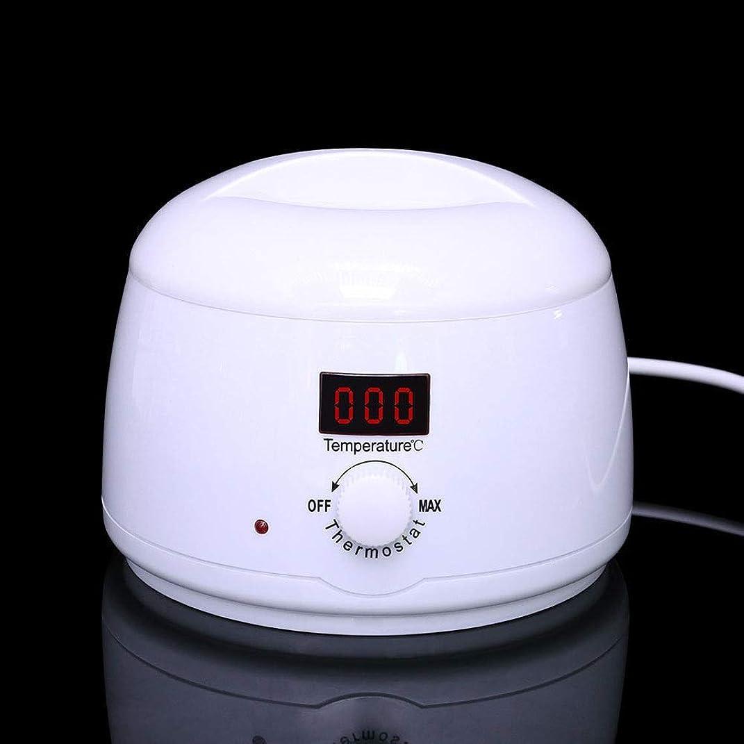 緊急戦争プーノ調節可能な温度のワックスマシン、女性および男性500CCのための多機能の家のワックスが付いている毛の取り外しのための専門の電気ワックスのウォーマーのヒーターのメルター