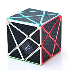 commercial CuberSpeed ​​Phantom Axle (with black carbon fiber sticker) Magic Cube (without Qiyi Axis Cube)… xcube 2 sticker