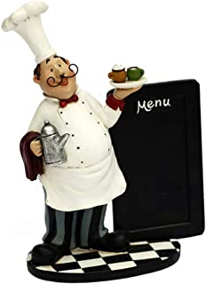Trycooling Creative Menu Board Fat French Chef Theme Blackboard Kitchen Chalkboards Rustic Wall Hanging Decor