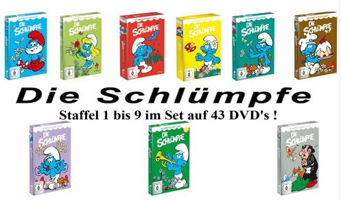 Staffel 1-9 (43 DVDs)