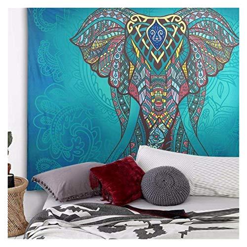 WWDD Lwmnbhd Colgando del Elefante tapicería de la Pared (Color : B15, Size : 150cmx130cm)