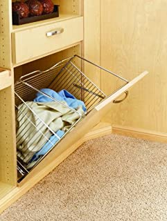 Rev-A-Shelf Tilt Basket (Chrome) Hampers,