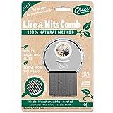 CHEER Peigne anti-poux et lentes en acier trempé inoxydable 100% recyclable, avec loupe. Méthode 100% naturelle