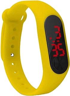 beIilan Screen Display LED Accessori per Bambini Sottile Orologio Digitale da Polso LED Guardare Studente Fitness Wristban...