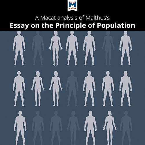 A Macat Analysis of Thomas Robert Malthus's An Essay on the Principle of Population audiobook cover art