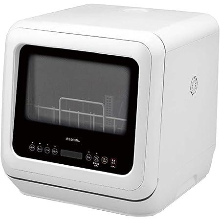 アイリスオーヤマ 食洗機 食器洗い乾燥機 工事不要 タンク式 コンパクト 上下ノズル洗浄 メーカー保証 ホワイト PZSH-5T-W