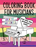 coloring book for musicians: Coloring book for kids and adults