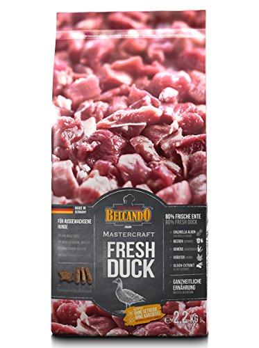 Belcando Mastercraft Fresh Duck [2,2kg] Trockenfutter für Hunde | 80% Frischfleisch | Hundefutter getreidefrei | sortenrein | für alle Rassen
