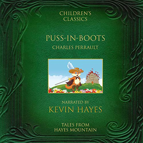 Puss-in-Boots audiobook cover art