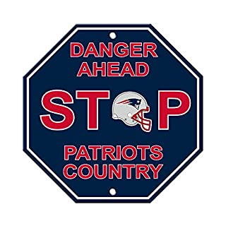 Fremont Die NFL New England Patriots Stop Sign (B000BD07OA) | Amazon price tracker / tracking, Amazon price history charts, Amazon price watches, Amazon price drop alerts
