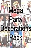 MEGA 80er-Jahre-Stil, Party-Dekoration-Scene Setter, innen