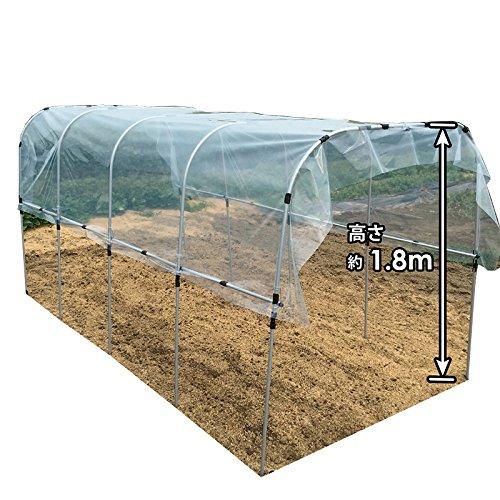 組立かんたん雨よけセット ワイド 1.9×3.6m