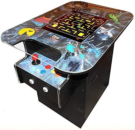 Doc and Pies Arcade Factory Cocktail Machine with LCD Screen and 60 Retro Games including Super product image