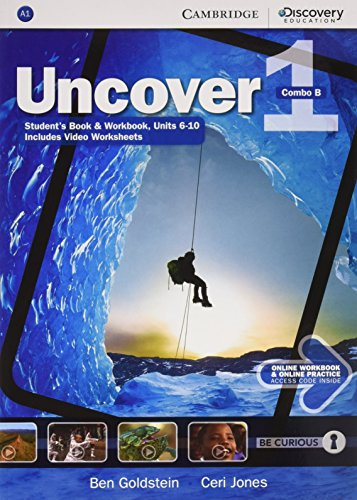 Uncover 1 - Combo B - With Online Workbook and Online Practice