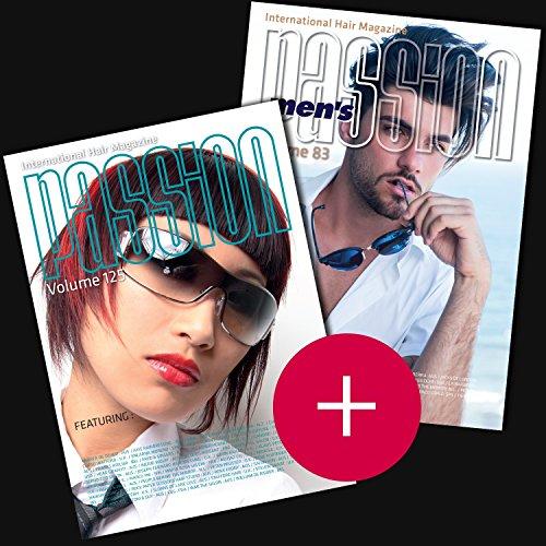 Pack Passion International Hair Magazine Vol.125 + Passion International Hair Magazine MEN'S Vol.83