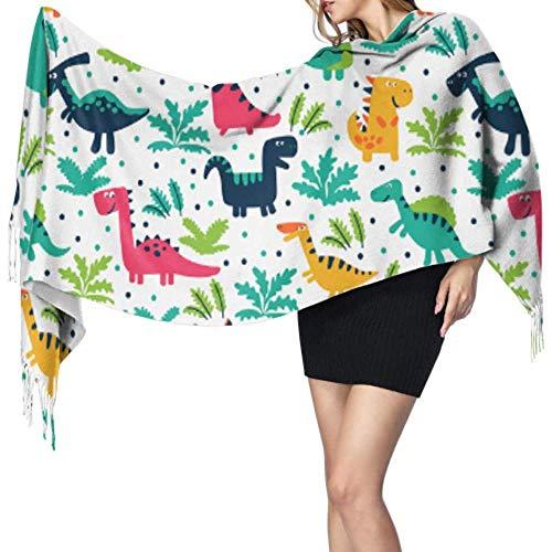 Pashmina Dinosaurus baby liefde Lady sjaal wrap cashmere sjaal sjaal dames sjaal grote zachte Pashmina extra warm
