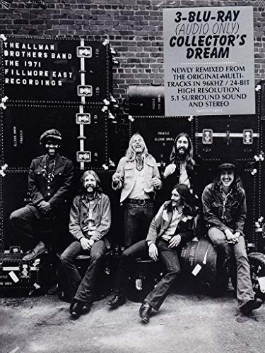 The Allman Brothers Band - The 1971 Fillmore East Recordings(Blu-ray audio only)