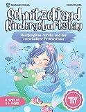 Schnitzeljagd Kindergeburtstag: Meerjungfrau Aurelia und der verschollene Perlenschatz - Komplett Set für 4-6 Jahre