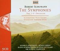 Schumann - The Symphonies; Zwickauer; Piano Concerto; Symphonic Etudes (2008-12-15)
