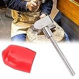 TMISHION Grabado de Metal Pieza de Mano Cuchillo de Grabado para procesamiento de fabricación de Joyas Herramientas Grabado de Bricolaje(Cuchillo Redondo R2.0)