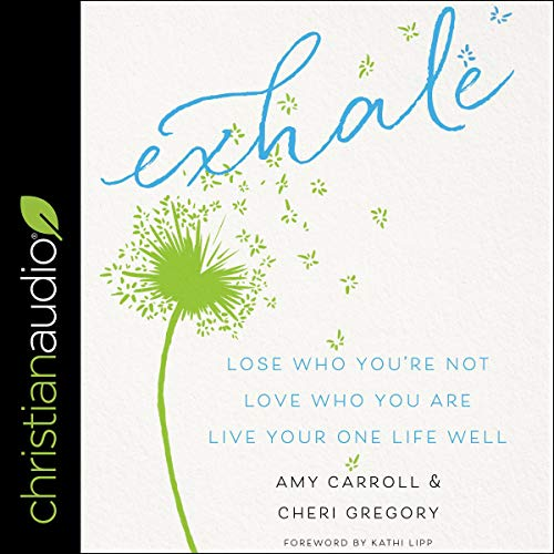 Exhale audiobook cover art