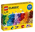 LEGO Classic 10717 Bricks Bricks Bricks 1500 Piece Set - Encourages Creativity in all Ages - Ideal for Creators of all Ages - Brick Separator Included by LEGO