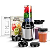COSORI Blender for Shakes and Smoothies, 10-Piece 800W Auto-Blend High Speed Smoothie Blender/Mixer...