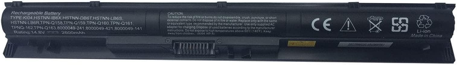 Tesurty KI04 800049-001 800009-241 N2L84AA KI04041 Replacement Battery for HP Pavilion 14-ab, Pavilion 15-ab, Pavilion 15-ag, Pavilion 17-g, Star Wars 15-an