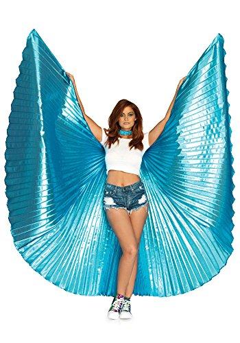 LEG AVENUE A2790 -360 Degree Isis Wings, Einheitsgröße (Blau)