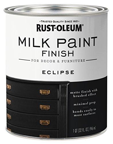 Rust-Oleum 331052 Milk Paint Finish, 32 Fl Oz (Pack of 1), Eclipse