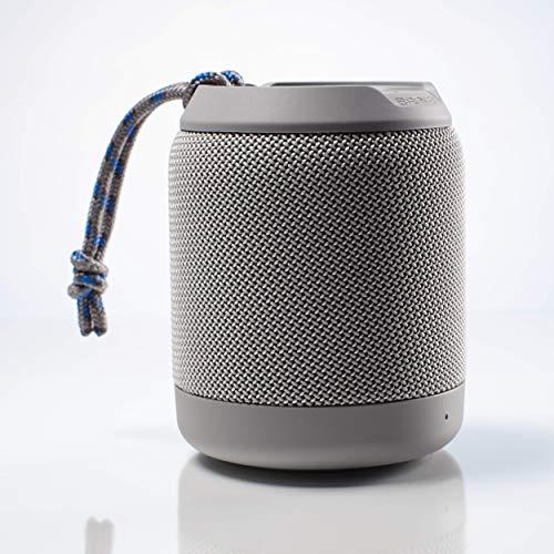 Braven BRV-Mini - Altavoz portátil con Bluetooth, Impermeable, Color Gris