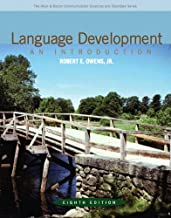 Language Development: An Introduction (8th Edition) (Allyn & Bacon Communication Sciences and Disorders)